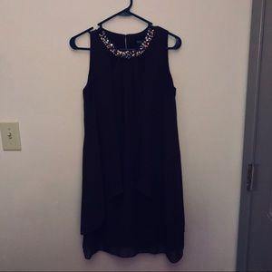 Dresses & Skirts - Beaded Collar Sleeveless Dress